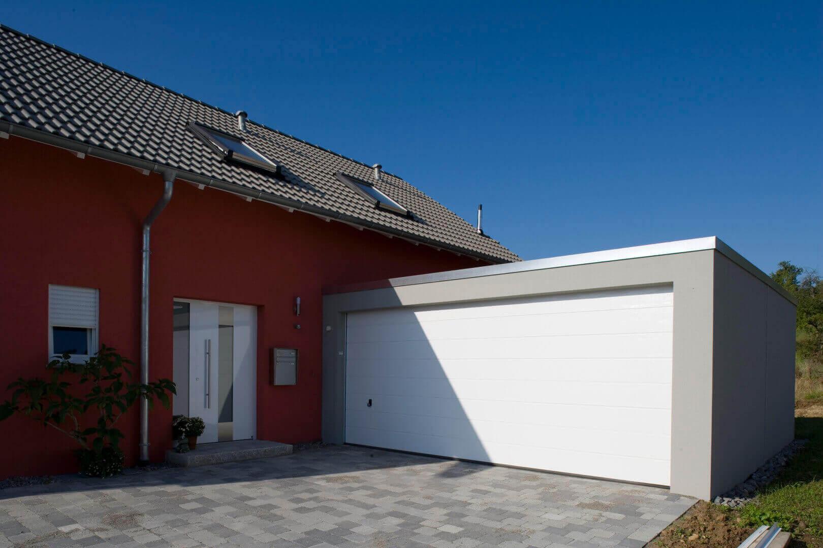 Fertiggarage beton maße  Großraum-Garagen als Beton-Fertiggarage von Beton Kemmler