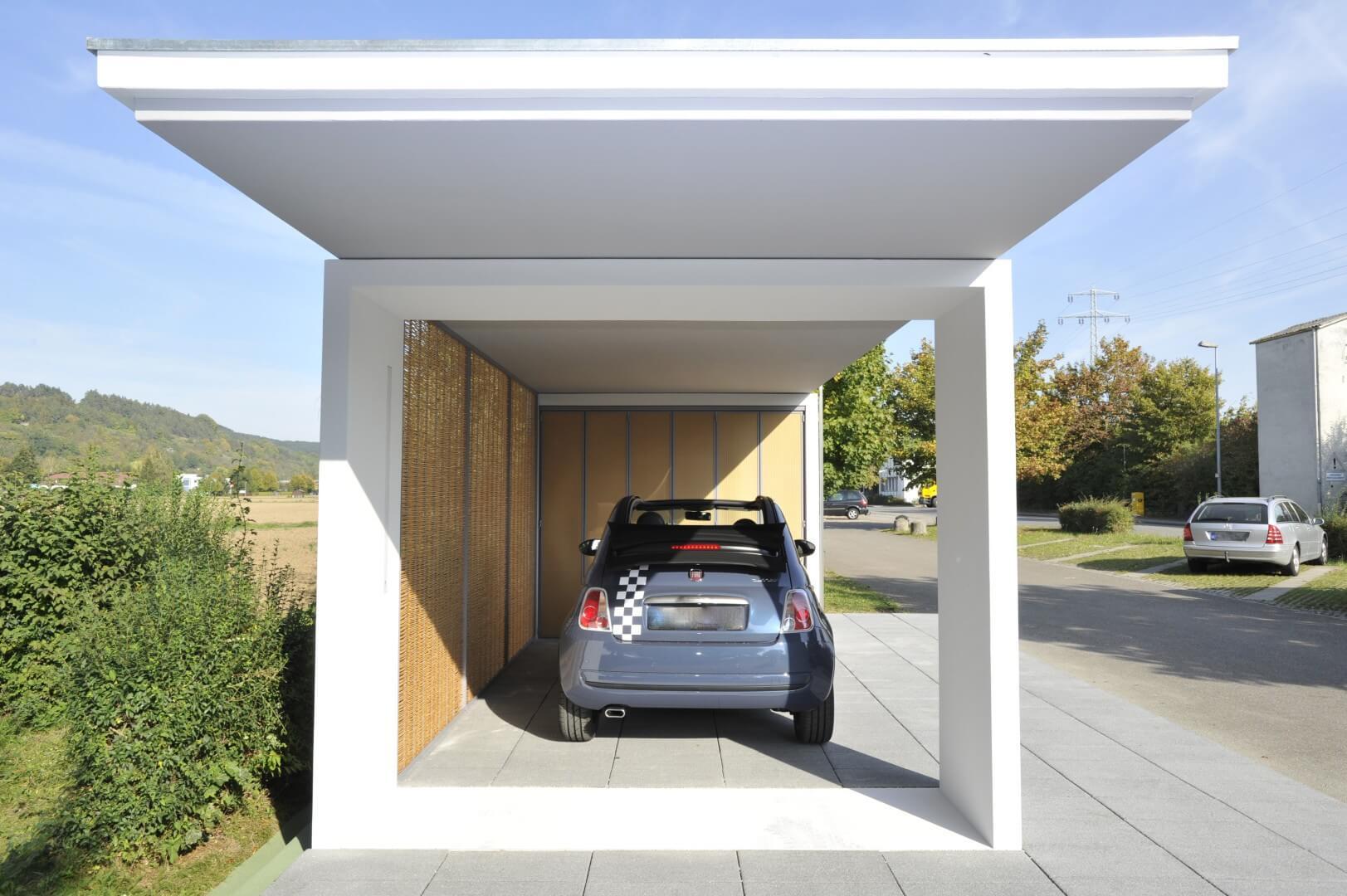 Kport garagen programm for Preis carport