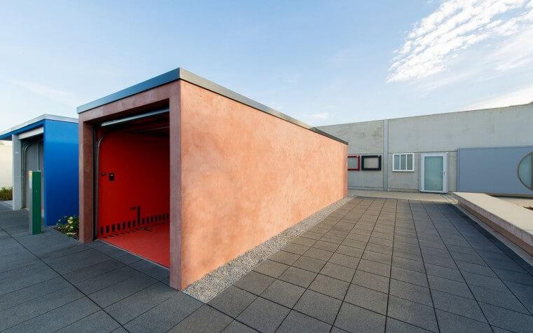 Extralange Garage