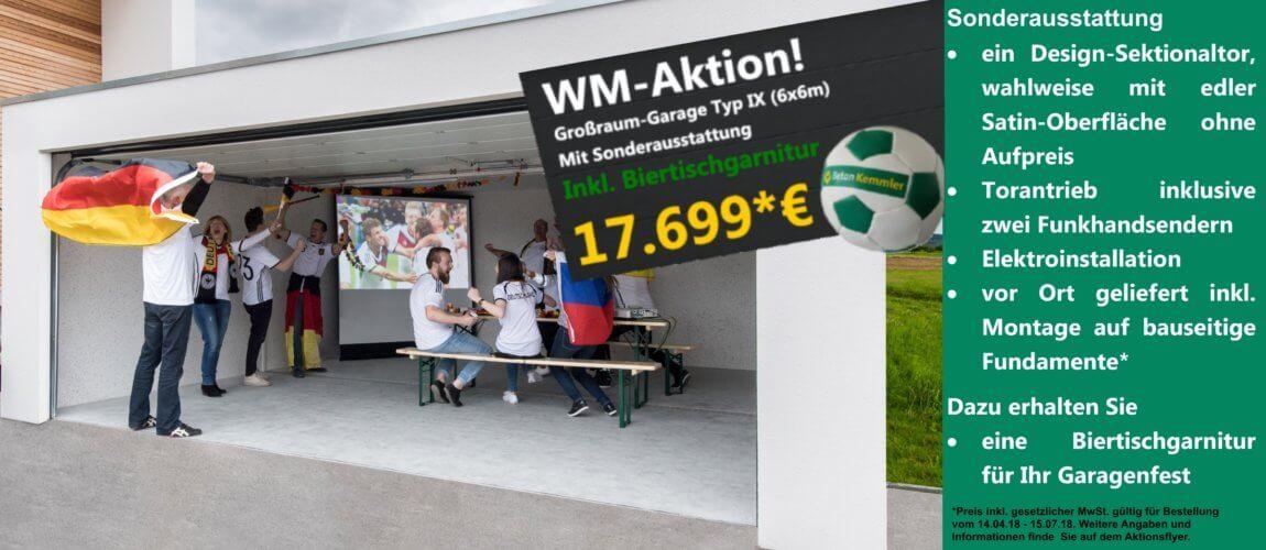 Kemmler WM-Aktion 2018