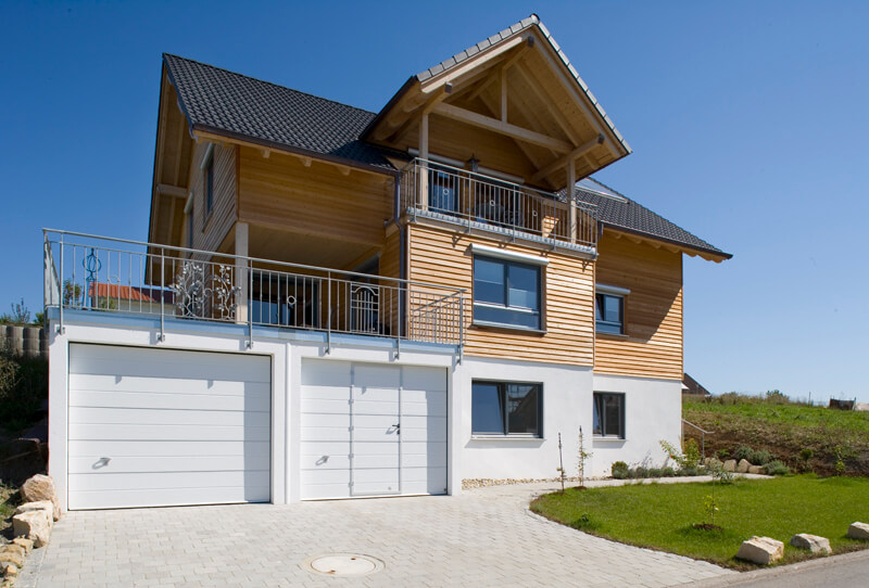 Fertiggarage beton maße  Doppelgaragen als Beton-Fertiggarage von Beton Kemmler
