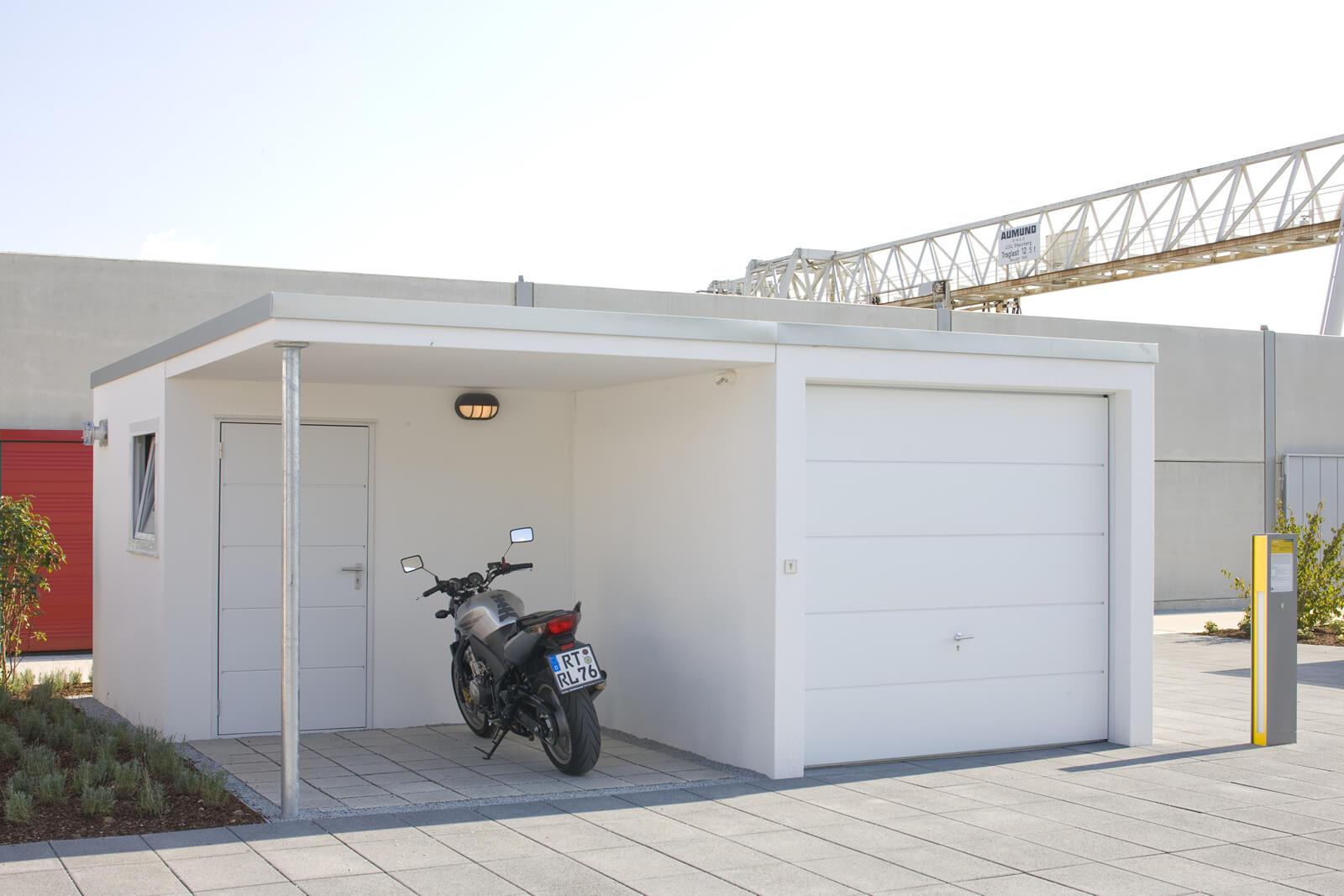 Fertiggarage beton gewicht  Einzelgarage als Beton-Fertiggarage
