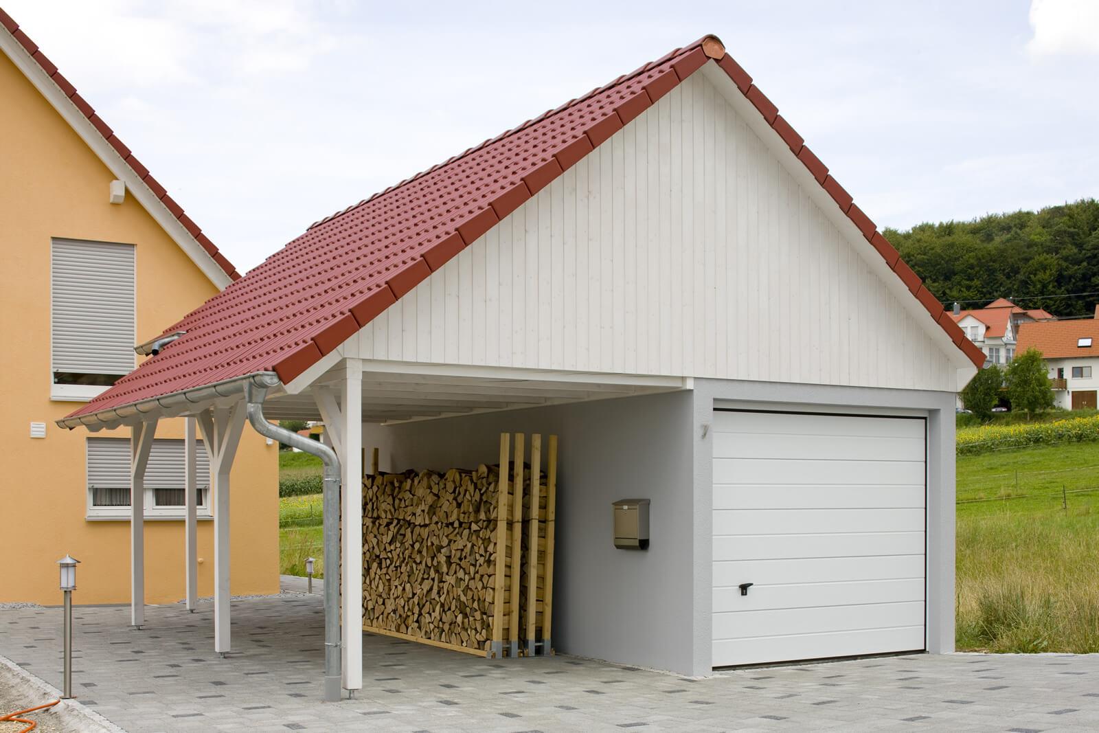 Fertiggarage beton  Einzelgarage als Beton-Fertiggarage