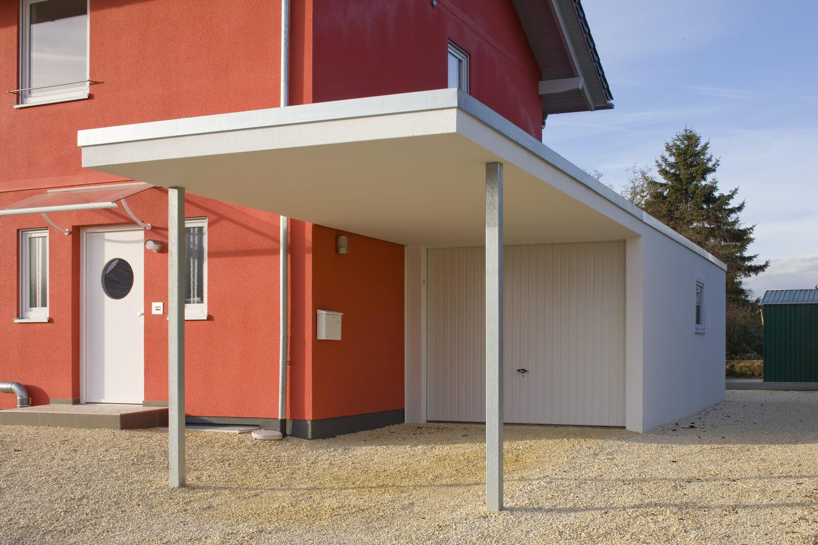 Fertiggarage beton maße  Einzelgarage als Beton-Fertiggarage
