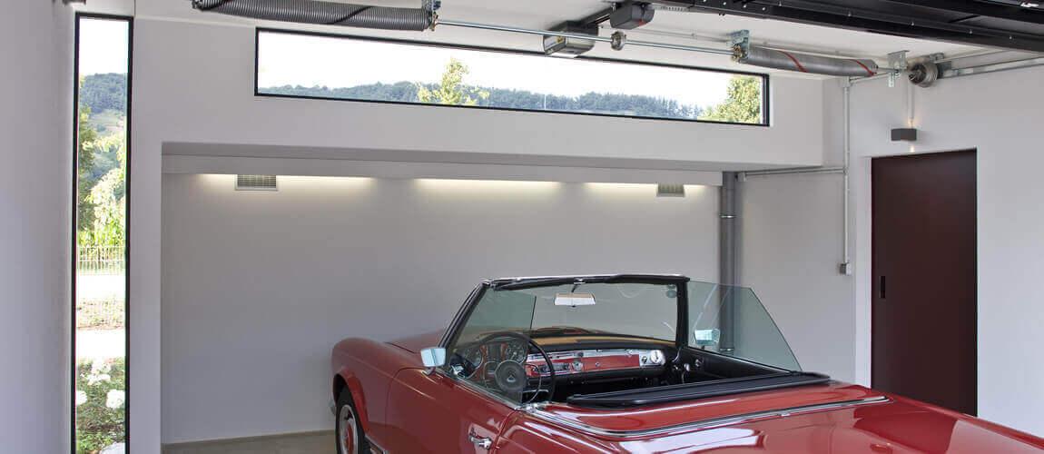 Innenansicht Garage