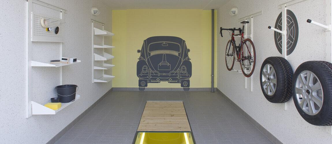 Ordnung in der Garage